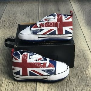 NWT Converse CT First Star Hi UK Flag AUTHENTIC
